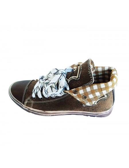 Damen Sneakers Fanny dunkelbraun