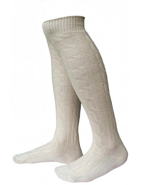 Trachten Kniebund Socken Natur